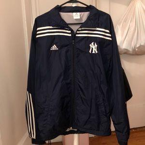 ✨ Vintage Adidas x NY Yankees Windbreaker Jacket ✨